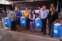 Donan 105 filtros de agua para centros escolares en Honduras