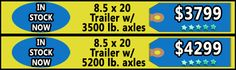 Trailers for Sale in MS - 8.5 X 20 Enclosed Trailers  - http://www.trailersnow.net/trailers-for-sale-in-ms-85-x-20-enclosed-trailers.html