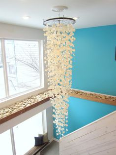 Paper Chandelier Mobile Sculpture  Large Scale by PaperAcorn, $1500.00