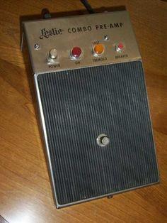 Leslie combo pedal model 020875 for 145/147 speaker
