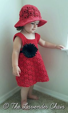 Weeping Willow Toddler Dress - Free Crochet Pattern - The Lavender Chair