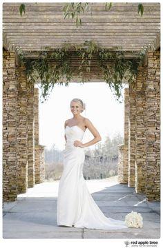 red apple tree photography: Siara Bridal Wedding Portrait, Clemson SC
