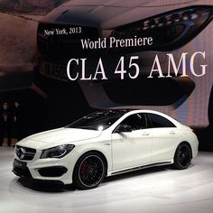 Mercedes CLA 45 AMG.  Car of the Day: 12 June 2015.