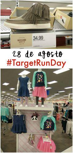Este domingo 28 de agosto, se celebra #TargetRunDay con descuentos adicionales de 10% en TODO en las tiendas a nivel nacional y también en Target.com. Esto si es una buena noticia, ¿verdad?  Envía por texto la palabra RUN a TARGET (827438) para obtener un cupón en tu teléfono celular y usarlo el domingo.