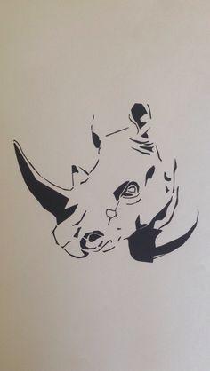 A Rhino logo I did