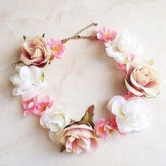 Beautiful headresses are all the range! Get involved with some beautiful flower adornments.