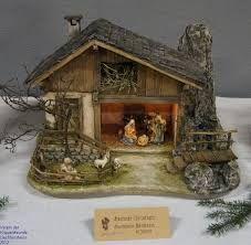 Imagen relacionada Christmas Grotto Ideas, Christmas Crib Ideas, Christmas Village Sets, Christmas Nativity Scene, Christmas Crafts, Christmas Christmas, Pallet Halloween Decorations, Homemade Christmas Decorations, Crib Decoration