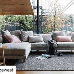Relaxed but luxurious living with @globewest ... Styling @juliagreenstylist Photography @jamesgeer #style #interiorstyling #interiorinspo #living