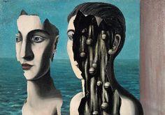 Rene Magritte : 1927 De geheime dubbelganger / Le Double Secret.