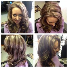 Another view of her gorgeous new colors and love the new curling system I  using! #salonnuageofnewberg