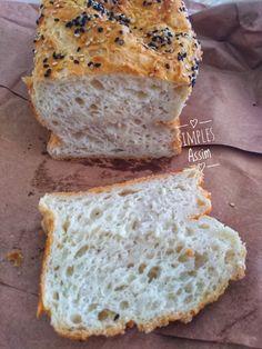 Esse Pão sem glúten infalível faz jus ao nome. A receita é infalível mesmo. Depois que aprendi as 8 dicas para fazer um pão sem glúten perfeito meus pães sem glúten sempre têm dado certo. Apesar de não ter intolerância ao glúten sempre faço ... Dairy Free Recipes, Bread Recipes, Healthy Recipes, Sin Gluten, Food C, Health Snacks, Lactose Free, Everyday Food, Low Carb Keto