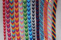 Chevron Friendship Bracelet/Candy Stripe Bracelet/String Bracelet/Woven Bracelet Chevron Bracelet, Friendship Bracelets Tutorial, Diy Friendship Bracelets Patterns, Bracelet Tutorial, Macrame Tutorial, Thread Bracelets, Woven Bracelets, Cute Bracelets, String Bracelets