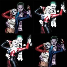 SUICIDE SQUAD Harley Quinn and The Joker Mad Love
