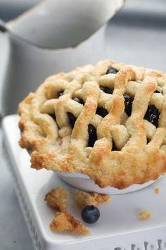 Blueberry pie Blauwe bessen taart...heerlijk met Beekers Berries blauwe bessen