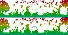Najdi 5 rozdílů - Velikonoční radovánky  #rozdily #velikonoce #najdirozdily #agentimysterii