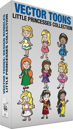Little Princesses Collection :  Bundle of images includes the following:  A young and classy princess A young princess with short blonde hair wearing pearl earrings a blue and yellow dress red flats looking so pretty while smiling  A young and beautiful princess A young princess with long golden blonde hair wearing a gold tiara with three green gemstones a pink two tone pink dress with white collar a pair of white shoes with pink bow smiling shyly as she places her left hand on top of her…
