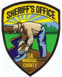 Mineral county Sheriff MT