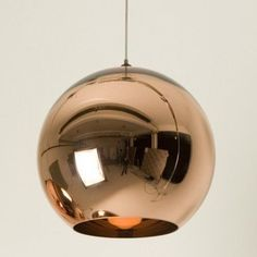 haus® is official stockist of all Tom Dixon furniture and lighting. A classic Tom Dixon design, the Copper Shade is created by exploding a thin layer of pure metal onto the internal surface of a polycarbonate globe. Copper Pendant Lights, Cheap Pendant Lights, Modern Pendant Light, Chandelier Pendant Lights, Pendant Light Fixtures, Globe Pendant, Ceiling Pendant, Pendant Lamp, Ceiling Lights