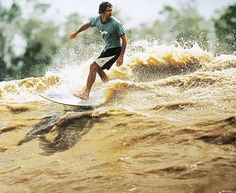 Surfing the Amazon: Once a year, ambitious surfers can ride the world's largest river.