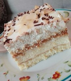 Sweet Recipes, Cake Recipes, Polish Recipes, Polish Food, Vanilla Cake, Ale, Cheesecake, Food And Drink, Menu
