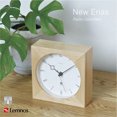 LEMNOS ( レムノス ) / New Erias ( ニューイリアス ) 電波時計 置時計 ... LEMNOS(レムノス)/NewErias(ニューイリアス)電波時計/置時計 ...