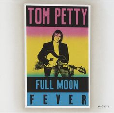 #FullMoonFever, by #TomPetty,  features contributions from members of his backing band the #Heartbreakers along with #RoyOrbison and #GeorgeHarrison of the #TravelingWilburys. The record shows #Petty exploring his musical #roots with nods to his influences. The album became a commercial and critical success peaking at No. 3 on the U.S. Billboard 200. #CD