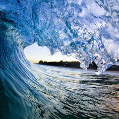 Ocean Photograph - Blue Envelope  -  Part 2 Of 3 by Sean Davey