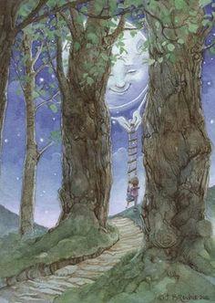 Moon Art by James Browne