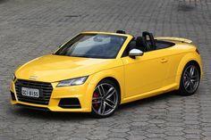 É quase impossível falar de conversíveis sem pensar no clichê 'cabelos ao vento'. No caso do Audi TTS Roadster, tabelado a R$ 319.990, mesmo com