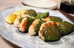 お弁当にも♪海老しんじょうの大葉包み焼き|レシピブログ