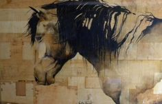 More horse art.  Kristin Knight