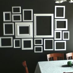 Wall frame design