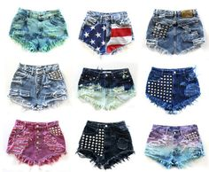 Diário de uma Fashionista: Customização de shorts jeans