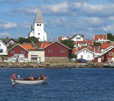 Tjorn, Sweden, Smiling Church