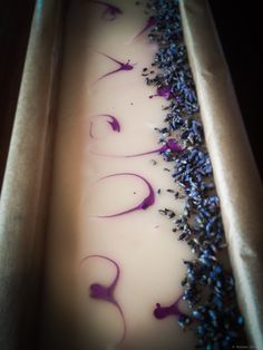 Cold process soap, lavender and shea butter!