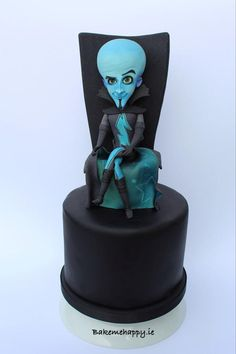 Megamind  by Elaine Boyle....bakemehappy.ie