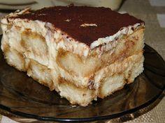 Gerdi süti: Hamis tiramisu Tiramisu, Cake, Ethnic Recipes, Food, Kuchen, Essen, Meals, Tiramisu Cake, Torte