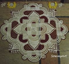 Flowers Art Drawing Sketches Awesome Ideas For 2019 Simple Rangoli Designs Images, Rangoli Designs Latest, Rangoli Border Designs, Rangoli Designs Diwali, Rangoli Designs With Dots, Kolam Rangoli, Beautiful Rangoli Designs, Latest Rangoli, Indian Rangoli