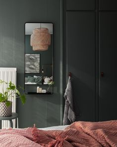 Chasing After The Sunset: Summer Trends For Your Interior Design - Master Bedroom Color Ideas - Bedding Master Bedroom Bedding Master Bedroom, Bedroom Green, Bedroom Colors, Home Bedroom, Bedroom Decor, Interior Design Masters, Plywood Furniture, Design Furniture, Home And Deco