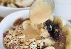 Chocolate peanut bowl - In Love With Health