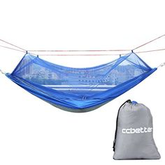 Sports & Entertainment Loyal Portable Camping Hammock With Mosquito Net 1-2 Person Outdoor Hanging Bed Strength Swing Sleeping Bag Multifunction Lazy Bag Easy And Simple To Handle Camping & Hiking