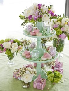 ideas garden party bridal shower decorations dessert tables garden is part of Garden party bridal shower - Girls Tea Party, Tea Party Birthday, Girl Birthday, Cake Birthday, Baby Party, Bridal Shower Tables, Bridal Shower Decorations, High Tea Decorations, Afternoon Tea Party Decorations