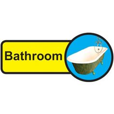 Bathroom Dementia Sign, help people with dementia and sight problems by displaying these 'Bathroom Dementia' signs around your premises, they assist in maintaining their independence, just peel off the backing strip and stick to your doors. Bathroom Doors, Bathroom Signs, Signs Of Dementia, Plastic Signs, Sign Materials, Sign Design, Adhesive Vinyl, Helping People