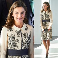 """#New Queen Letizia attended the meeting of the Board of Trustees of the Foundation for Assistance against Drug Addiction (FAD) and the presentation of the Prize for the """"Magistral Action 2017"""" BBVA city, Madrid  (18th December)  #spanishroyalfamily #spanishroyals #familiarealespañola #queenletizia #reinaletizia #instaroyals #royalnews"""