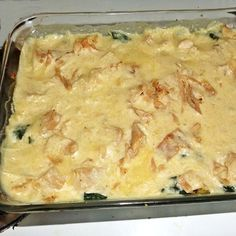 Chicken Florentine {THM: S Meal} - Not too hard to throw together and very creamy and tasty! I'm not even a huge fan of spinach and I liked it. Of course, next time I might use a little less spinach because of my personal preference, but overall a yummy dish!