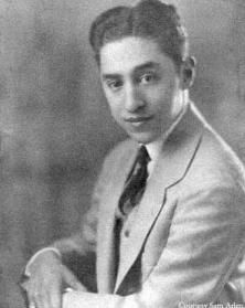 Harold Arlen at Twenty-one, 1926