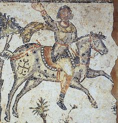 Mosaic from Bordj-el-Djedid, Carthage - 5thc to early 6thc, British Museum