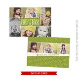Holiday Photocard Template | Funky pics | Photoshop templates for photographers by Birdesign