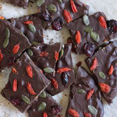 Weekends are for eating chocolate..... Looots of chocolate Recipe for my homemade superfood filled dark chocolate bark is down my feed if your interested and yes it is dairy free refined sugar free and absolutely delicious Happy Sunday by papaya_sunshine