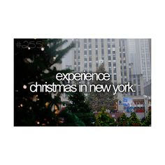 Experience Christmas time in New York